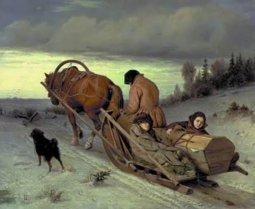 Funeral Procession Vasily Perov