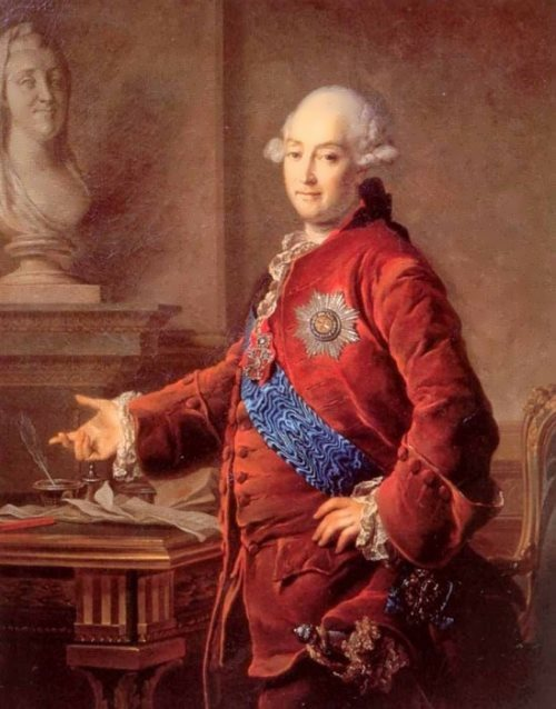 Portrait of Prince Alexander Mikhailovich Golitsyn, 1772