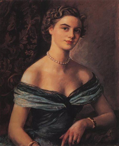 Helene de Rua, Princess Jean de Merode. 1954