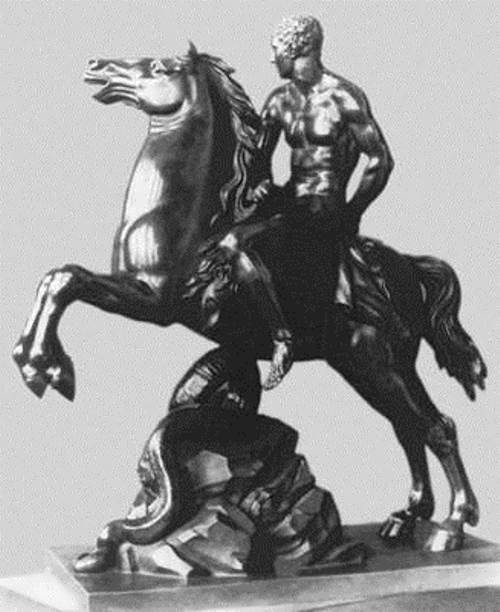 Hercules on horseback