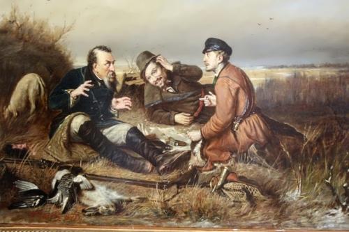 The Hunters Take a Break, 1871