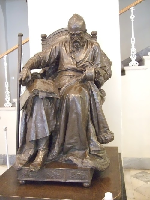 Ivan the Terrible, 1871. Bronze