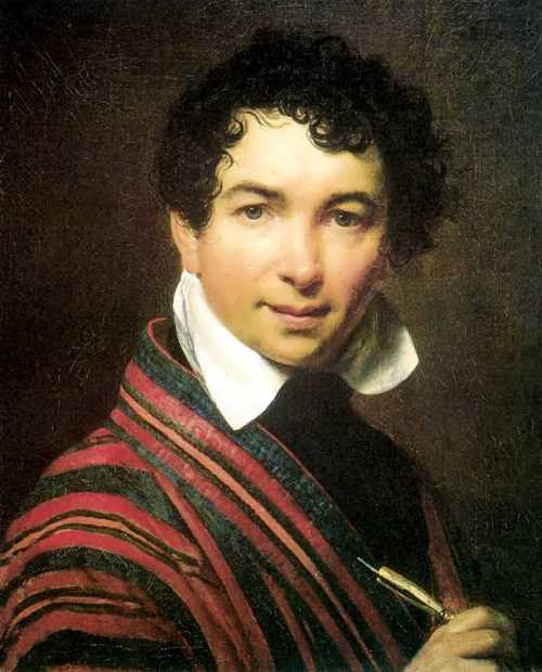 Orest Kiprensky. Self-portrait