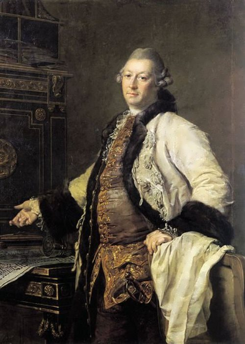 Portrait of architect Alexander Fillipovich Kokorinov Dmitry Levitsky