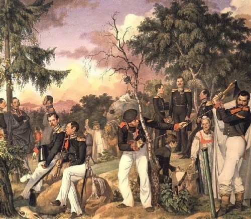 Grenadier Regiment of the Life Guards, 1843