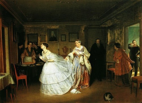 The Major's Marriage Proposal, 1848