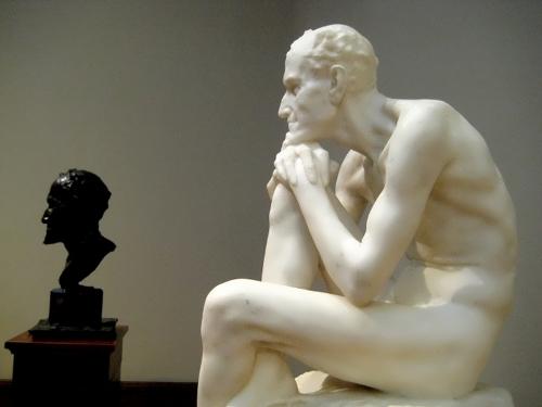 Statue of Mephistopheles Mark Antokolsky