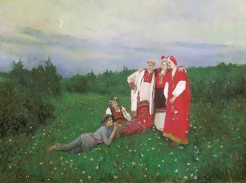 Northern Idyll Konstantin Korovin