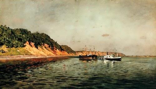 On the Volga, 1896