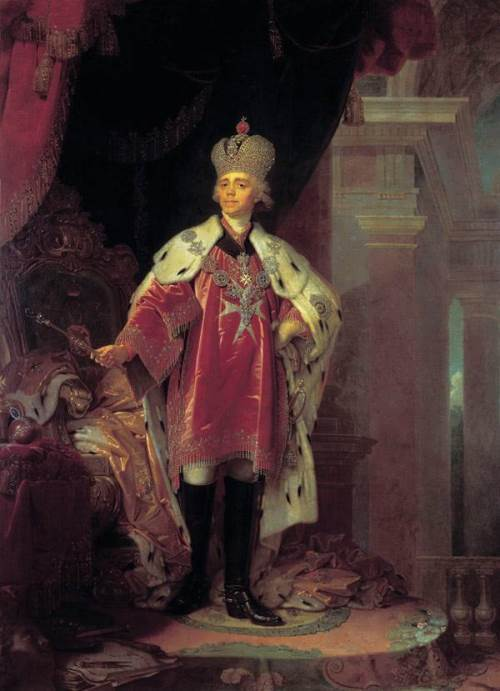 Portrait of Paul I, 1800
