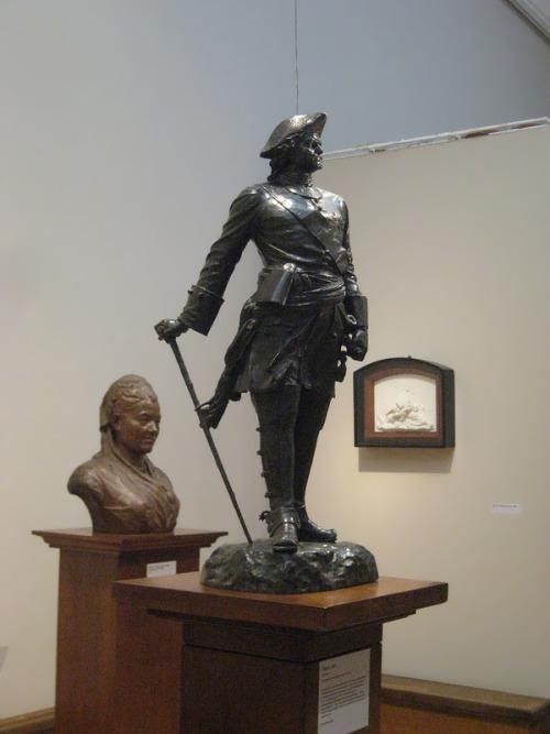 Statue of Peter the Great Mark Antokolsky