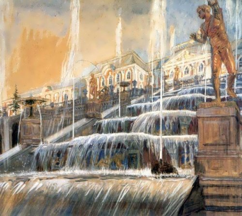 Peterhof Alexander Benois