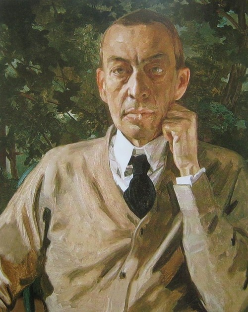 Portrait of Rachmaninov, 1925