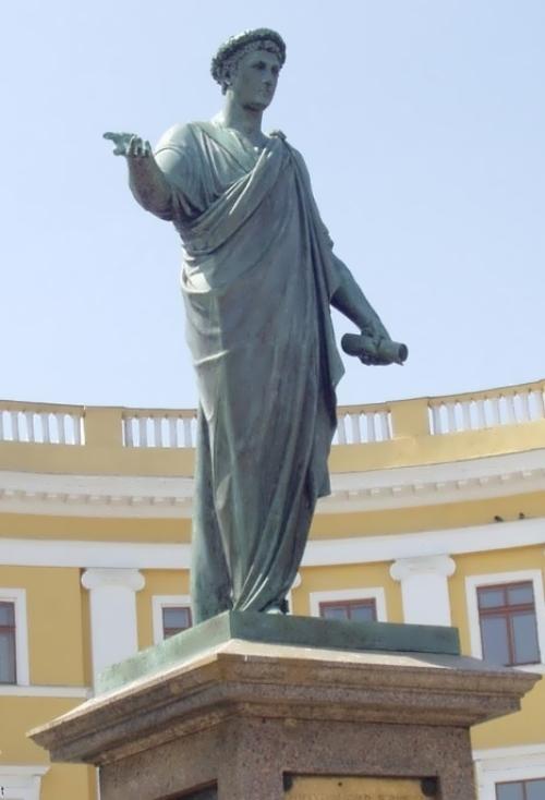 Monument to Duke de Richelieu Ivan Martos