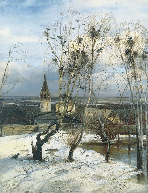 The Rooks Have Come Back, 1871