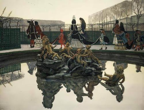Royal walk Alexander Benois