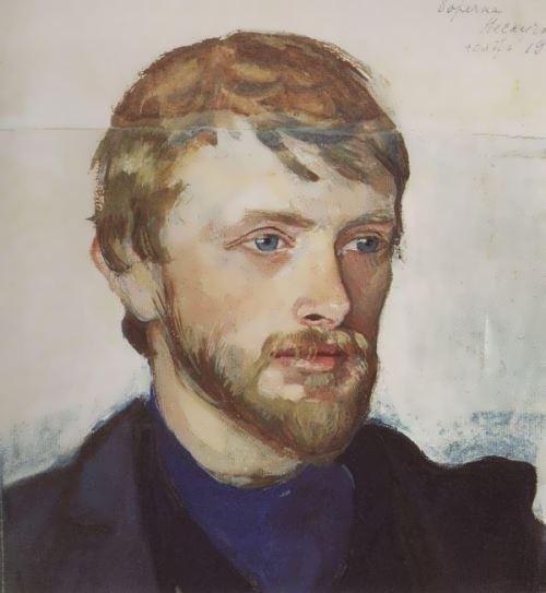 Portrait of B. A. Serebryakov