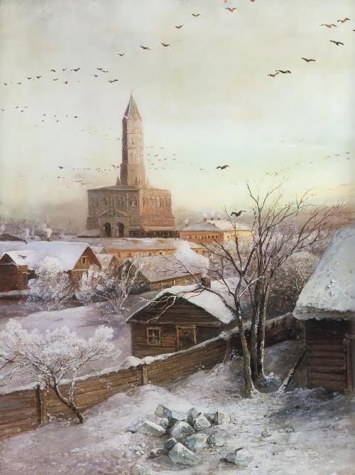 Sukharev Tower Alexei Savrasov