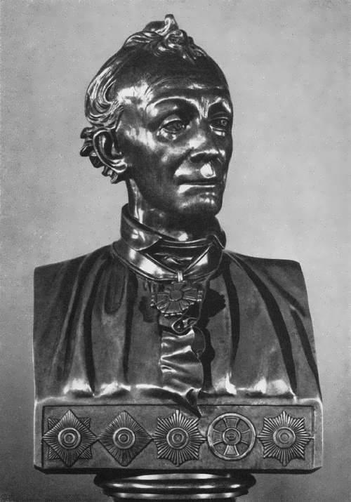 Bust of Suvorov Vasily Demut-Malinovsky