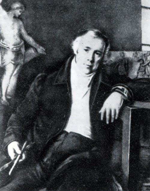 М. I. Terebenev. Portrait of V. I. Demut-Malinovsky, 1830