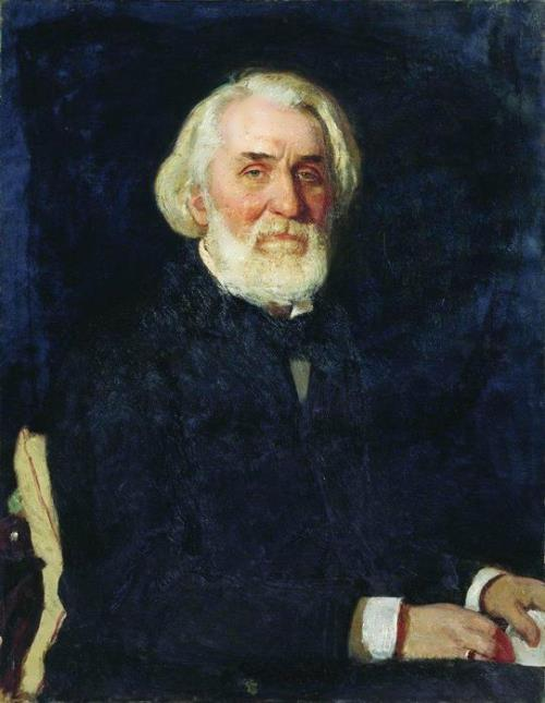 Portrait of Ivan Turgenev, 1879