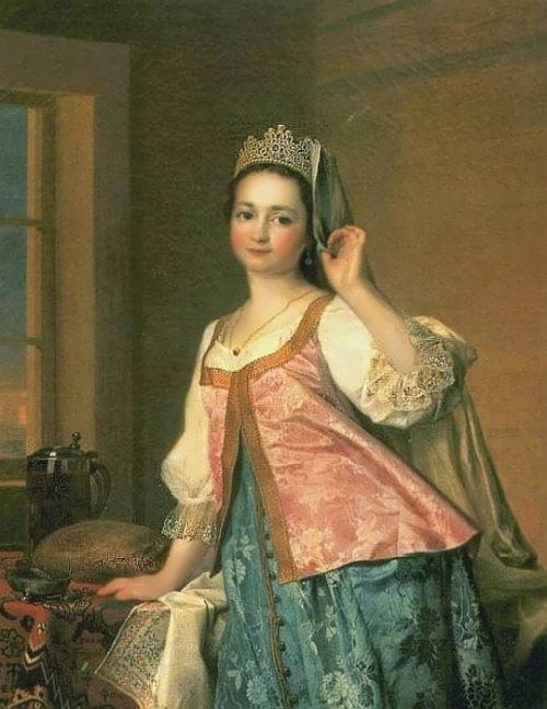 Portrait of Agafya Dmitrievna Levitskaya