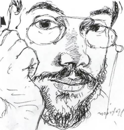 Self Portrait Alexander Benois
