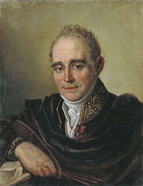 Ivan Bugaevskiy-Blagodatny. Portrait of the artist Vladimir Borovikovsky