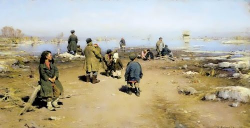 The Ice Is Gone, 1895. Ryazan Regional Art Gallery