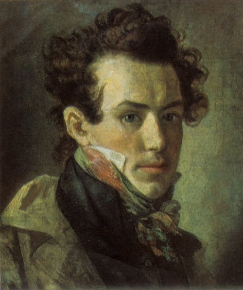 Kiprensky. Self-portrait