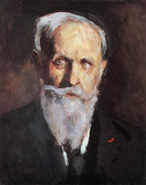 Korovin Self-portrait, 1938