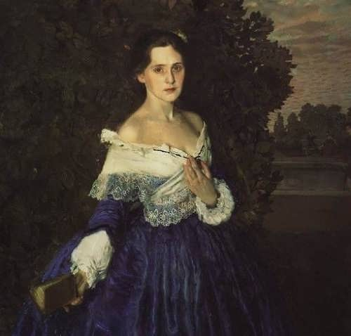 Lady in Blue, 1900
