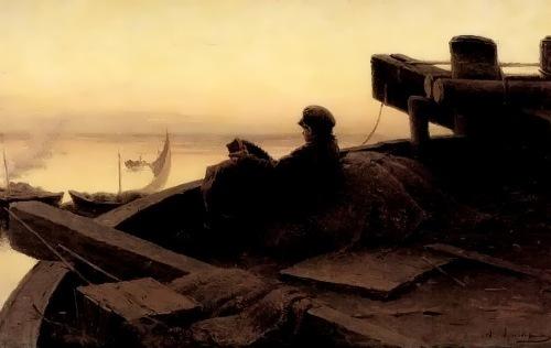 On the Volga, 1889
