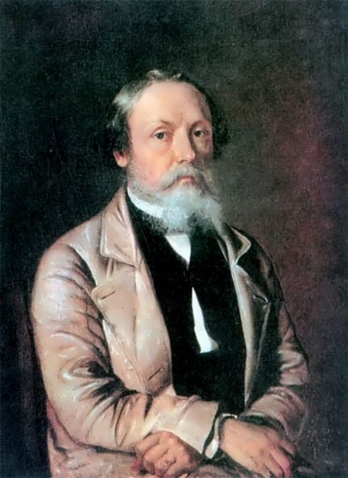 P. Fedotov. Self-portrait