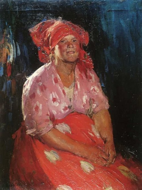 Peasant Woman in pink