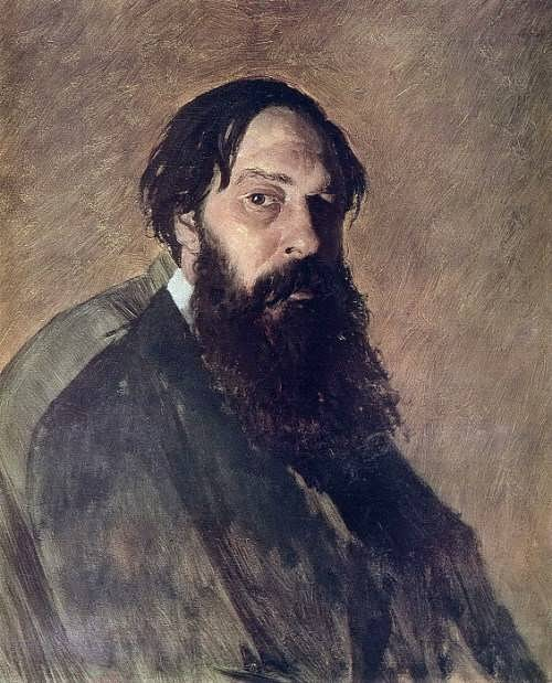 Vasily Perov. Portrait of the artist A. Savrasov