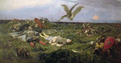 After the Battle of Igor Svyatoslavich with the Polovtsi Viktor Vasnetsov