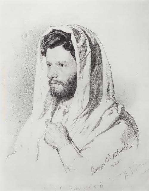 Ilya Repin. Portrait of Mark Antokolsky