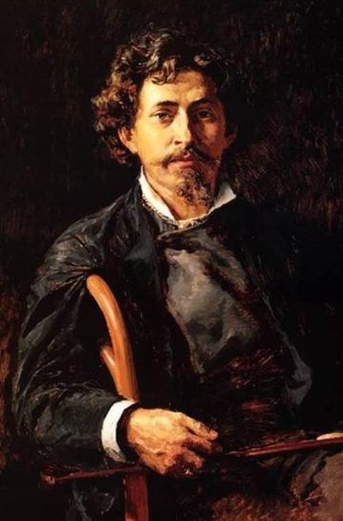 Ilya Repin. Self-portrait