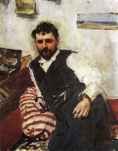 Serov. Portrait of K. Korovin