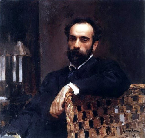 Valentin Serov. Portrait of the artist Isaac Levitan. 1893