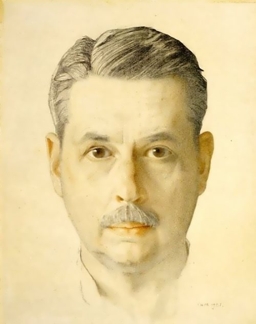 Self-portrait, 1921