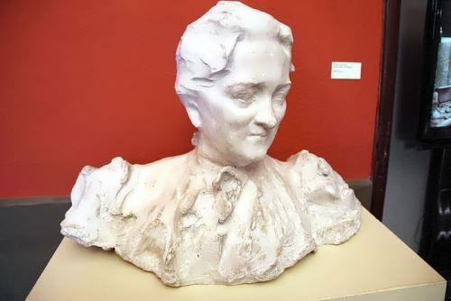 Portrait of the artist's mother Pavel Trubetskoy