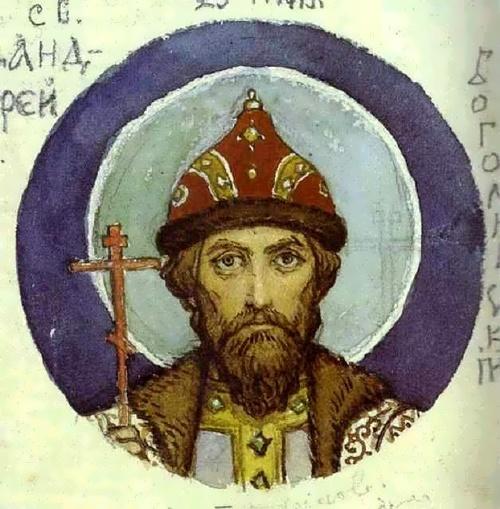 V. Vasnetsov. Prince Andrei Bogolyubskii