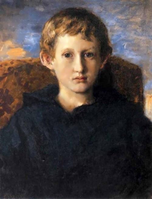 Portrait of Vladimir Vasnetsov, the Artist's Son. 1899