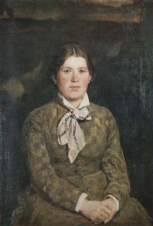 Portrait of A. V. Vasnetsova, the Artist's Wife. 1878