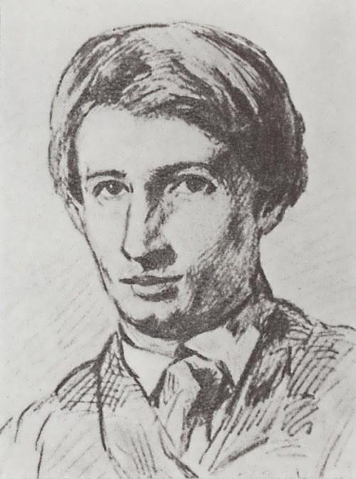 Vasnetsov. Self-portrait, 1868