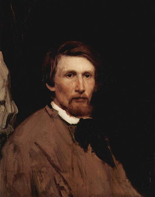 Viktor Vasnetsov. Self-portrait, 1873