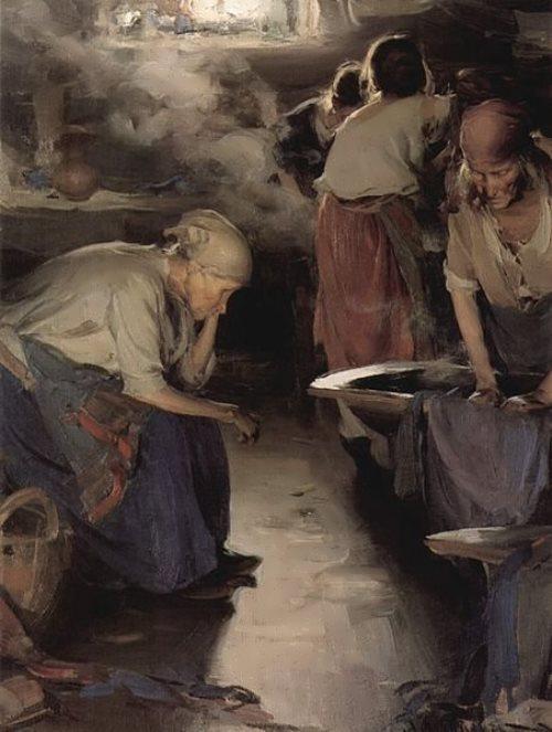 The Washer-Women, 1899
