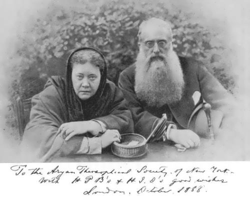 Blavatskaya and Colonel Olcott